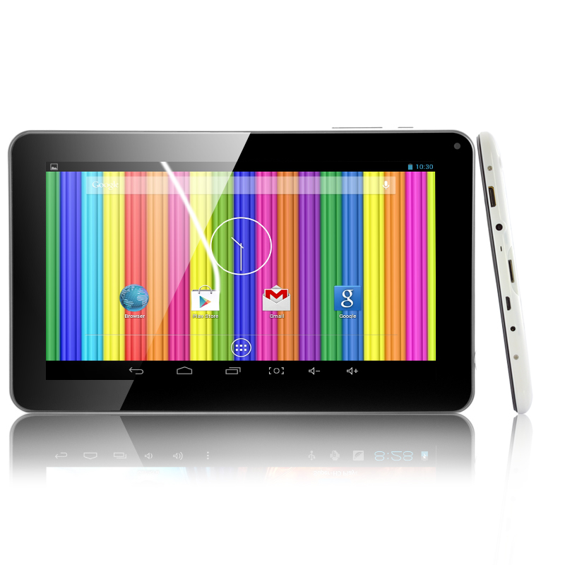 Wholesale 9 Inch Android 4.4 Tablet (Dual Core 1.3GHz CPU, 800x480, Dual Cameras, 8GB ROM)