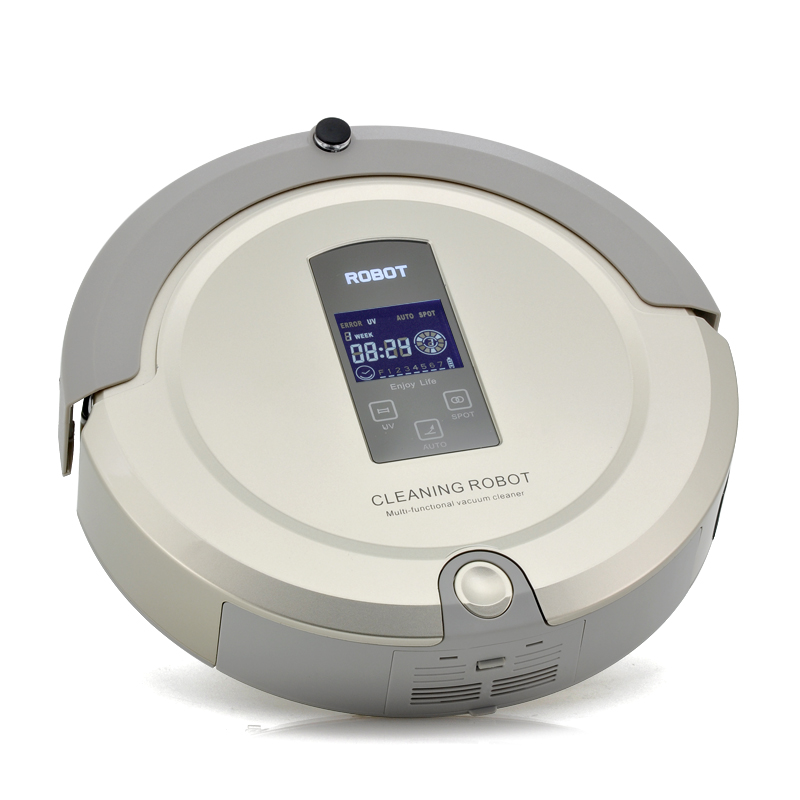 Wholesale AmTidy A325 4-in-1 Robot Vacuum Cleaner (Low Noise, Virtual Wall Detector, Remote Control)