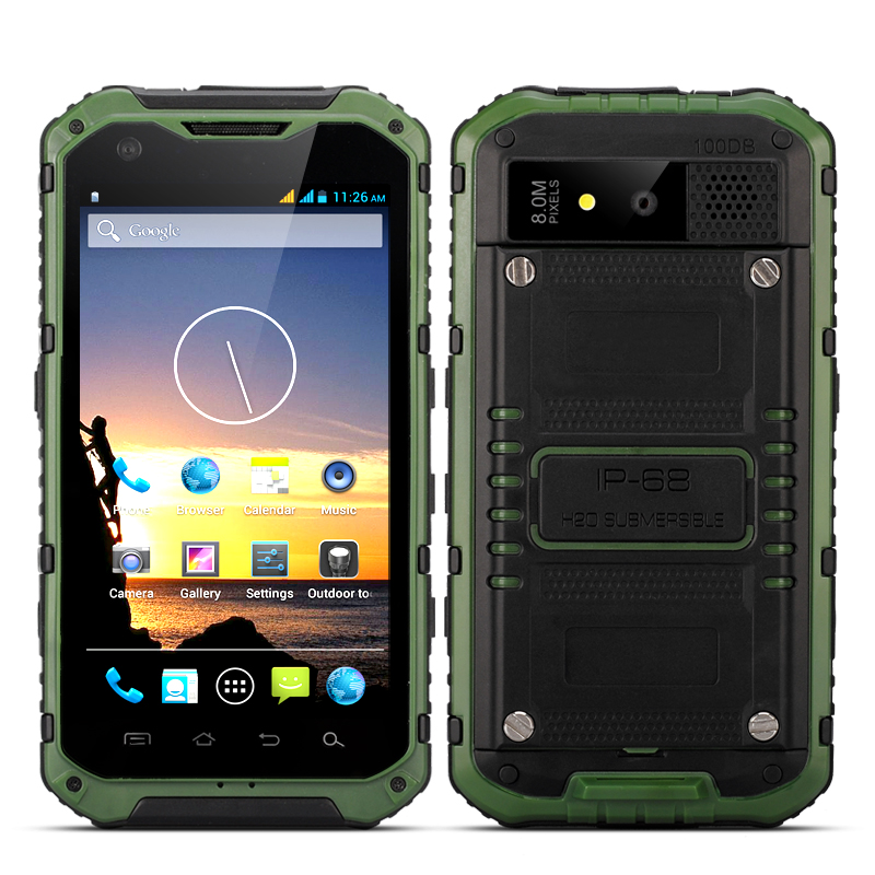 Wholesale Ox - 4.3 Inch IP68 Rugged Android Smartphone (1.5GHz Quad Core C