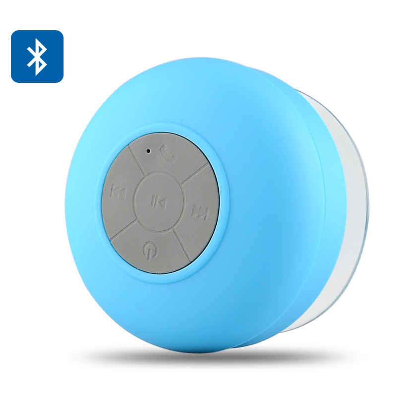 Wholesale AquaSound - BTS-06 Bluetooth Shower Speaker (IPX4 Water Resistant, Microphone, Music Control, Call Answer)