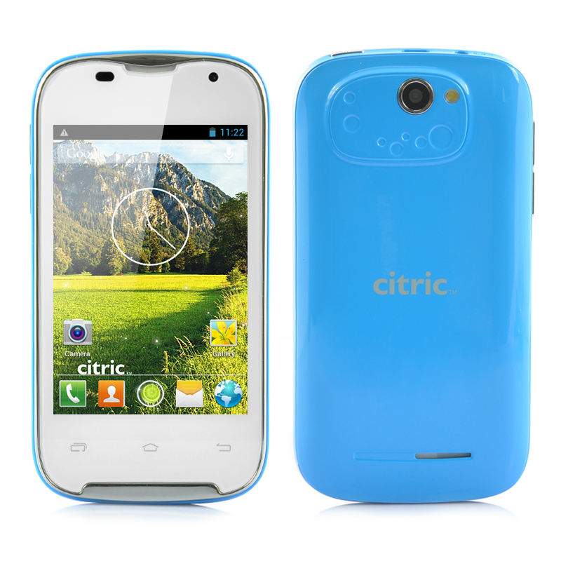 Wholesale Citric C5 3.5 Inch HVGA 3G Android 4.2 Smartphone (Dual Core 1GHz CPU, 480x320, 2MP Camera, Black)