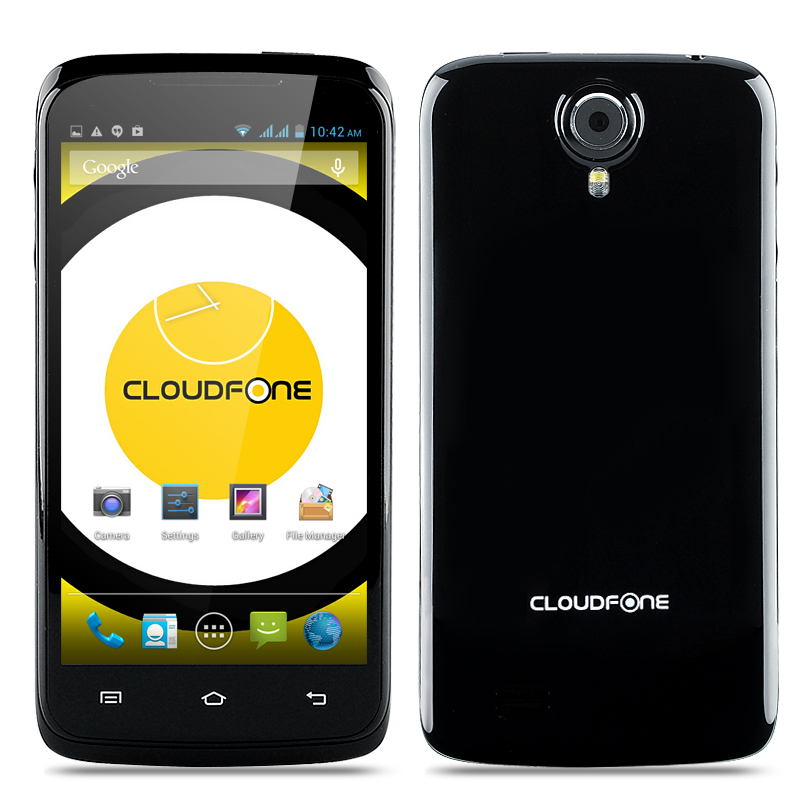 Wholesale Cloudfone Excite 470q Quad Core Android 4.2 Phone (4.7 Inch, 960x540, MTK6582 CPU, 5MP Rear Camera, Black)