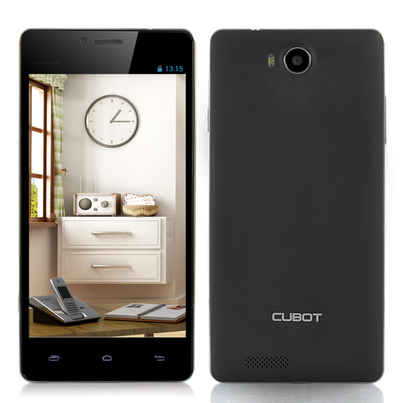 Wholesale Cubot S208 Quad Core Android Phone (5 Inch OGS Screen, 1.3GHz CPU, 16GB ROM, Black)