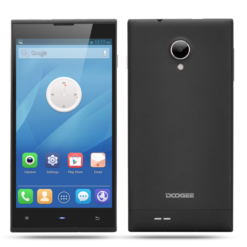 Wholesale DOOGEE Dagger DG550 5.5 Inch HD Octa Core Phone (3G, 13MP Camera + F2.2 Aperture, MTK6592 1.7 GHz, 1280x720, Black)