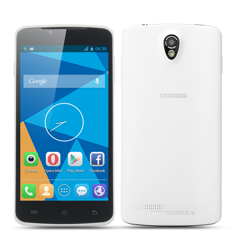 Wholesale DOOGEE MINT DG330 Quad Core Android Phone (MTK6582 1.3GHz CPU, 5