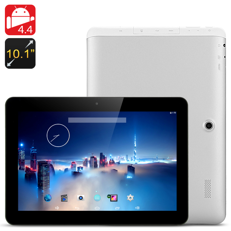 Wholesale E-Ceros Vision S 10.1 Inch Widescreen Android 4.4 Tablet (1920x1200, Quad Core CPU, 2GB RAM + 16GB ROM, Black)