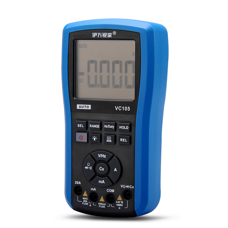 Wholesale EONE VC105 Digital Multimeter with LCD Digital Display and Rechargeable Battery