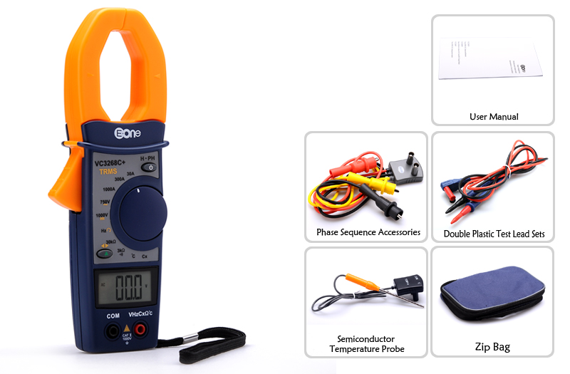 images/2014-electronics/EONE-VC3268P-Multifunction-Clamp-Multimeter-Temp-Phase-Sequence-Frequency-30A-300A-1000A-AC-Measurements-Digital-LCD-plusbuyer_8.jpg