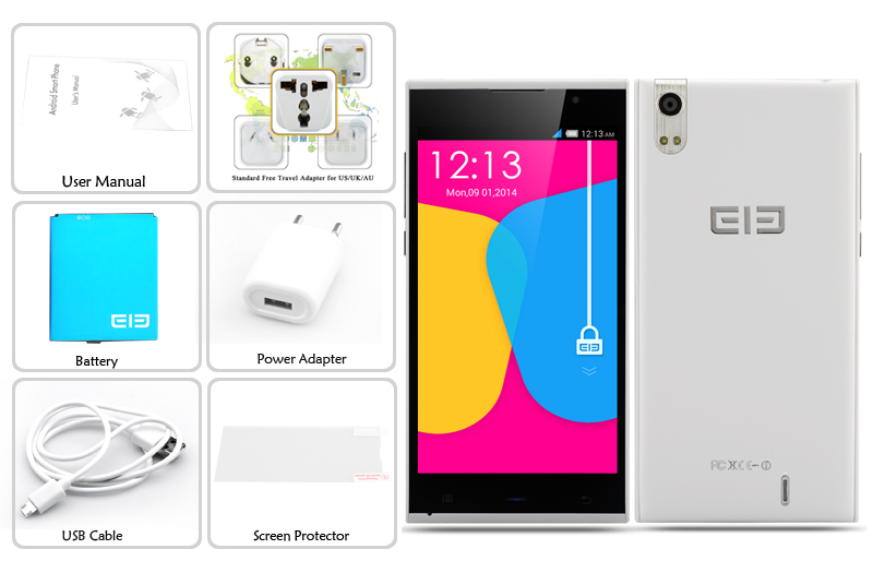 images/2014-electronics/Elephone-P10-5-Inch-Quad-Core-Phone-1280x720-1-3GHz-CPU-Android-4-4-1GB-RAM-16GB-ROM-White-plusbuyer_9.jpg