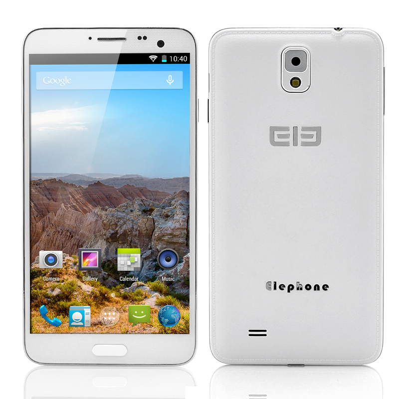 Wholesale Elephone P8 FHD Octa-Core Android 4.4 Phone (5.7 Inch, 1080x1920, 1.7GHz CPU, 2GB RAM, 16GB ROM, 13MP Camera, White)