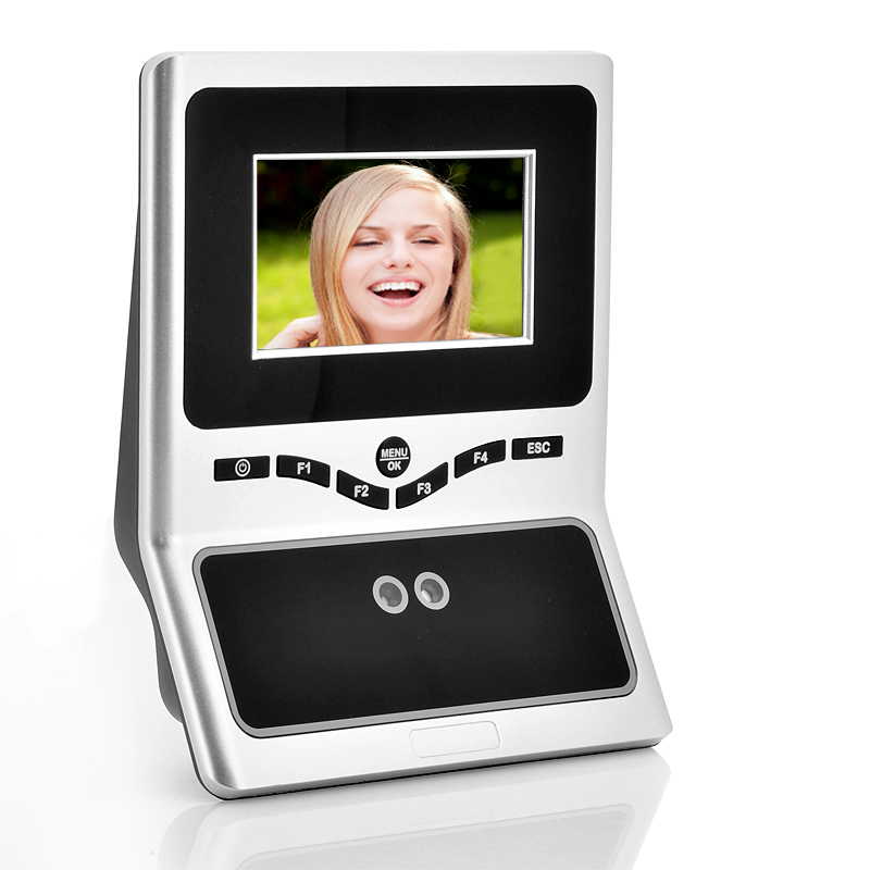Wholesale Face Recognition Time Attendance System (4.5 Inch Touchscreen Input, 300 Face + 200000 Transaction Capacity)