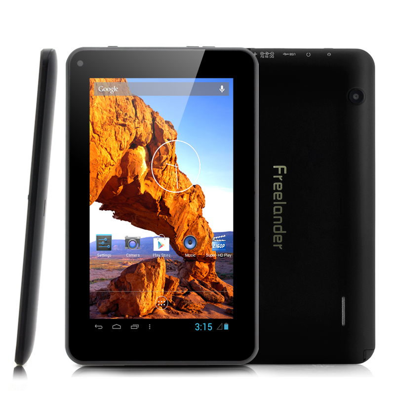 Wholesale Freelander PH20 TV 7 Inch Android Tablet with ISDB-T (1GHz CPU, 800x480, 512MB RAM)