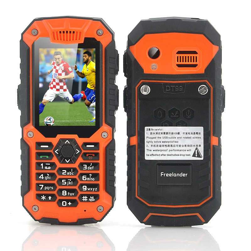 Wholesale Freelander i40 Dual SIM Rugged Phone with 7 Channel Walkie Talki