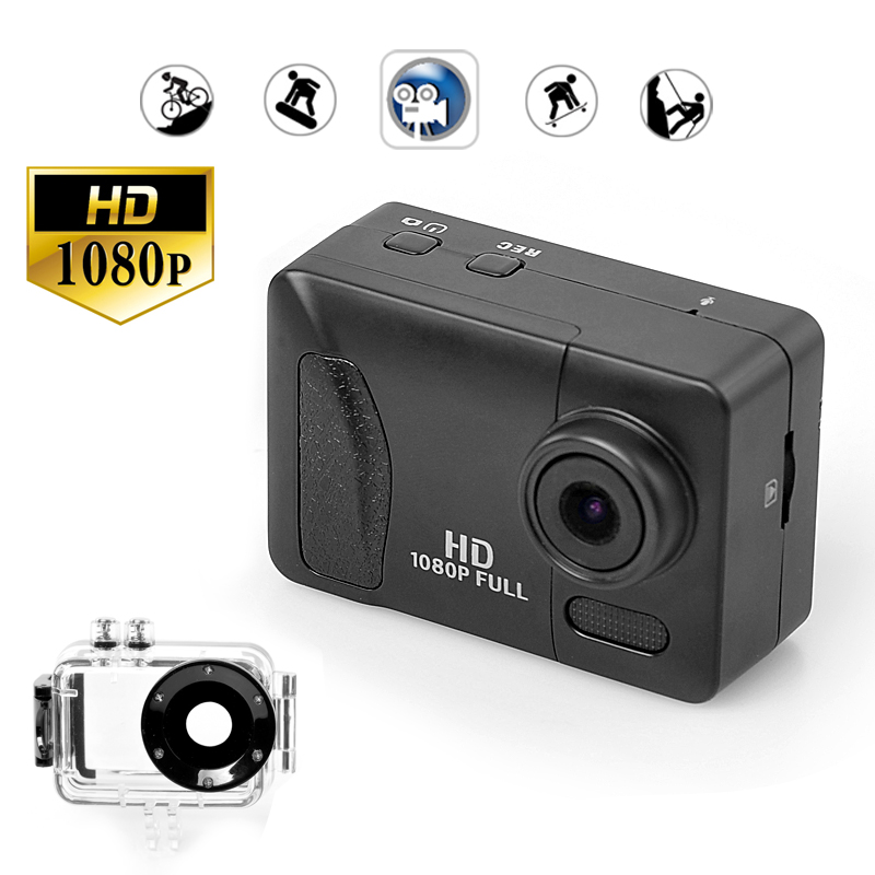 Wholesale Full HD Wi-Fi Action Sport Camera (1080p, IP68 Waterproof, 1.8 I
