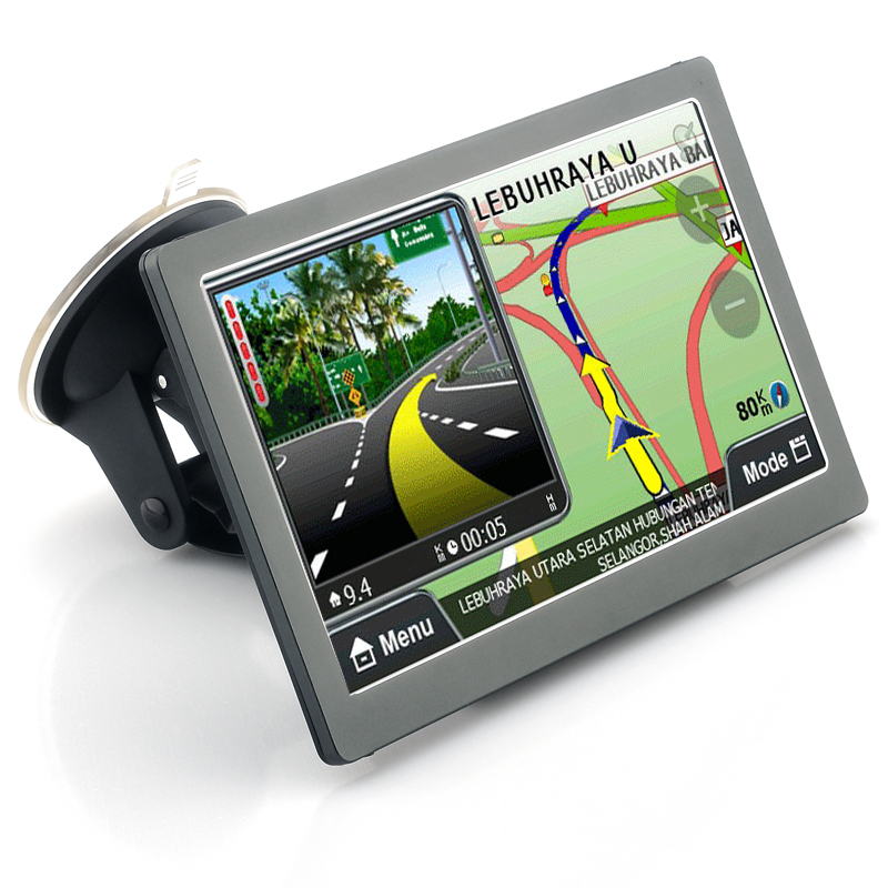 Wholesale 7 Inch Touchscreen GPS Navigator (Win CE 6.0, 800x480, Bluetooth