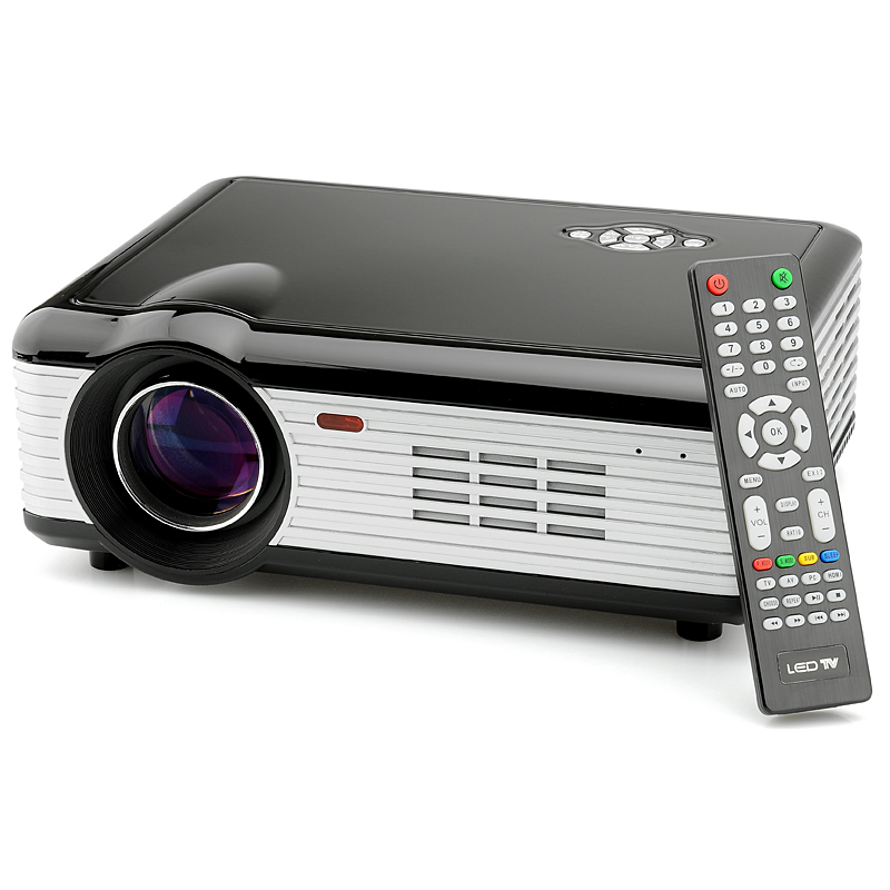 Wholesale HD LED Projector (1280x768, 5.5 Inch TFT LCD, 800 Lumens, 2000: 1)