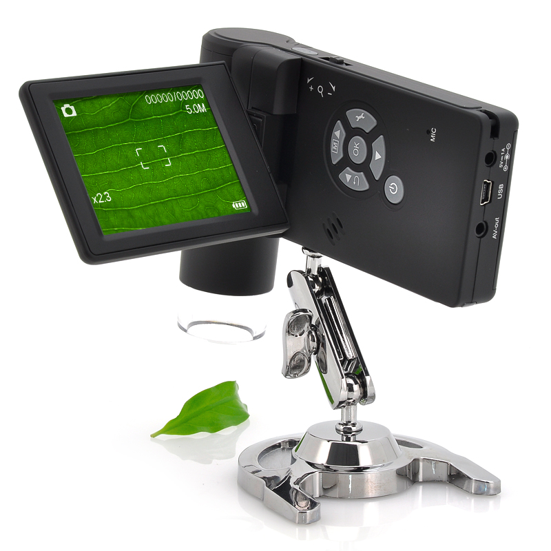 Wholesale Handheld USB Digital Microscope with 3 Inch Screen (5MP, 250x Magnification, AV Output)