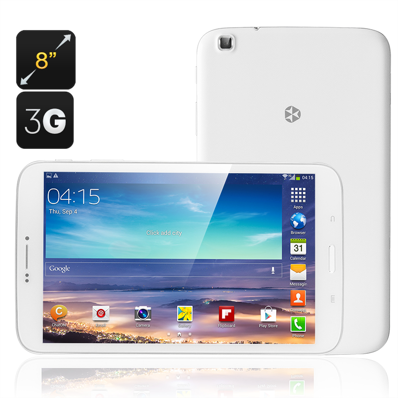 Wholesale KingZone KingPad 1 Quad Core Tablet (8 Inch Phone, Android 4.3,