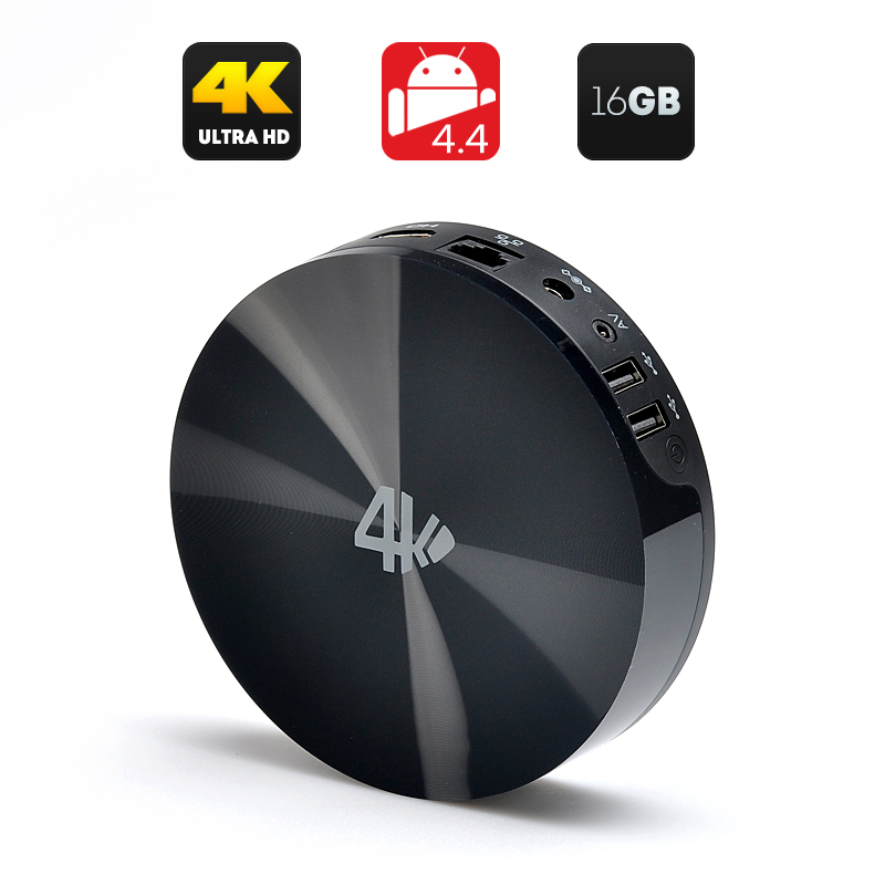 Wholesale MBOX S82 UHD 4K TV Box (Android 4.4, Quad Core 2GHz CPU, Dual Wi