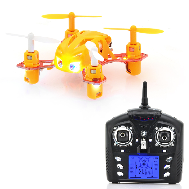 Wholesale Mini 4 Channel 2.4GHz RC Quadcopter with USB Charging