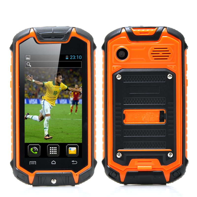 Wholesale Mini Nano Rugged Android Mobile Phone (Dual SIM, IP53 Water Resi