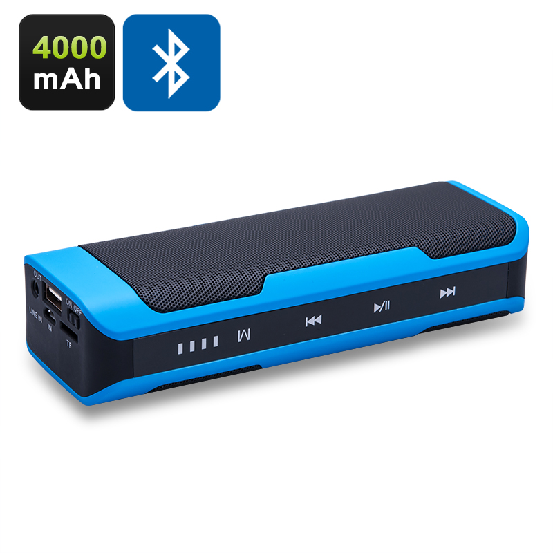 Wholesale Portable Touch Control Bluetooth Speaker with 4000mAh Power Bank