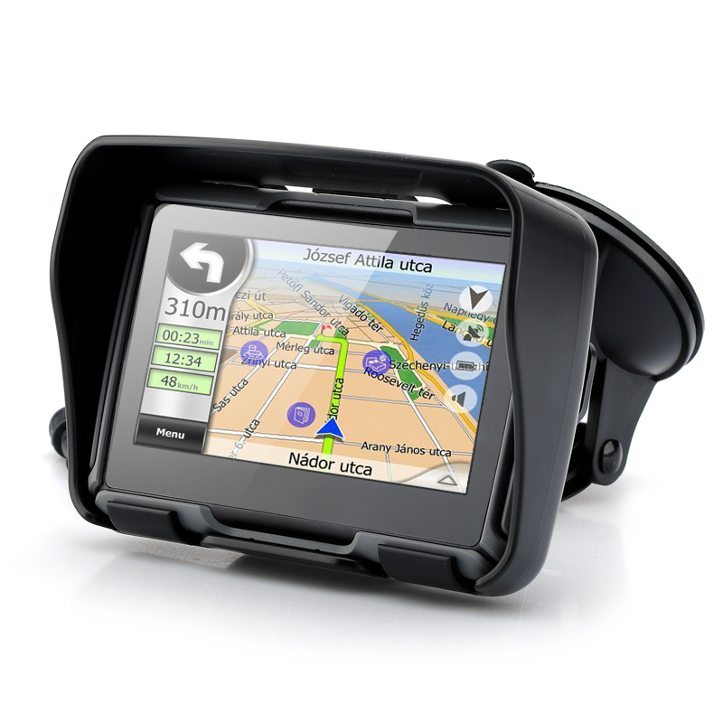 Wholesale Rage - 4.3 Inch All Terrain Motorcycle GPS Navigation System (IPX7 Waterproof, 4GB, Bluetooth, Grey)