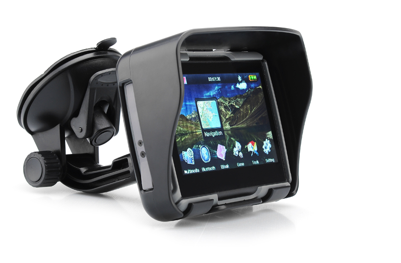 Motorcycle Navigation Systems : Rage inch all terrain motorcycle gps navigation