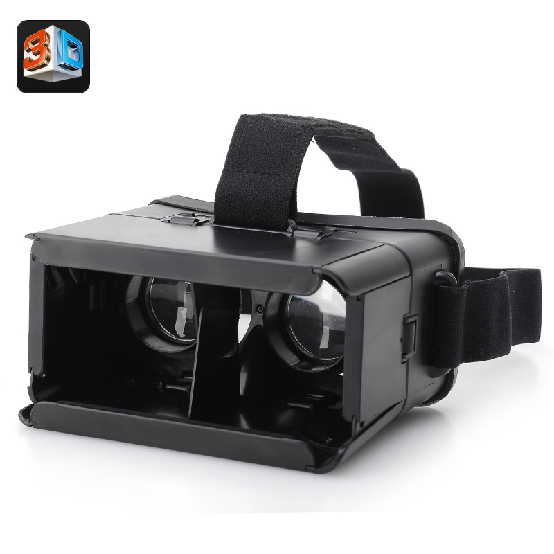 Wholesale Revelation - VR 3D Glasses with Adjustable Strap - For 4 To 7 Inch Android/iOS Smartphones