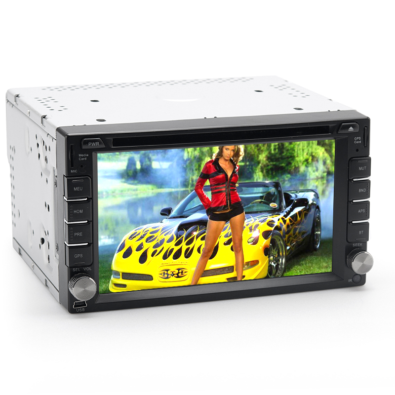 Wholesale Rogue - 2 DIN 6.2 Inch Windows Car DVD Player (Region Free, GPS,