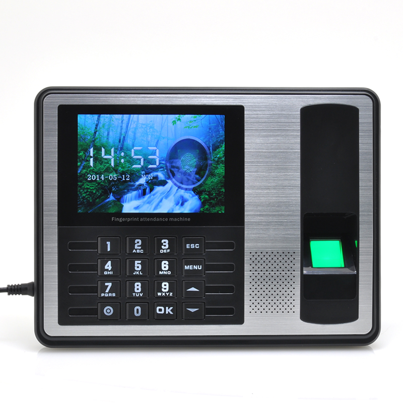 Wholesale Self-Service Fingerprint Time Attendance with 4 Inch TFT Screen