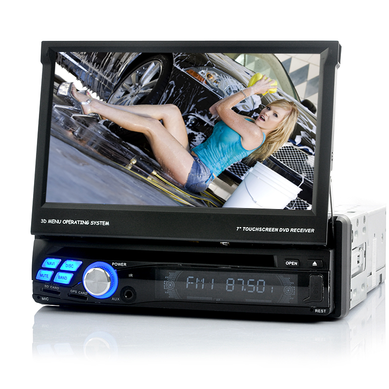 Wholesale Single DIN Android 4.0 Car DVD Player (3G, Wi-Fi, GPS, DVB-T TV)