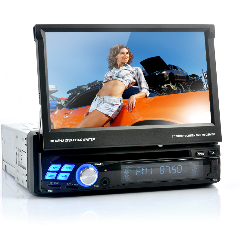 Wholesale Single DIN Android 4.0 Car DVD Player (3G, Wi-Fi, GPS, Analog TV)