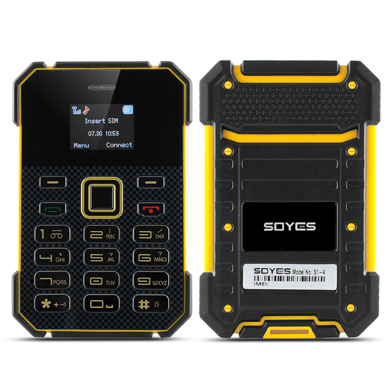 Wholesale Soyes S1 Ultra Slim Bar Phone (1 Inch Screen, 1.2GHz CPU, 4GB, Y