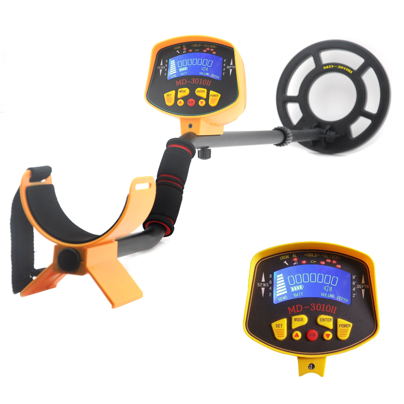 Wholesale Treasure Hunter - MD-3010II Metal Detector for All Metals (8.2 Inch Water Resistant Probe, LED Display, Adjustable Stem)