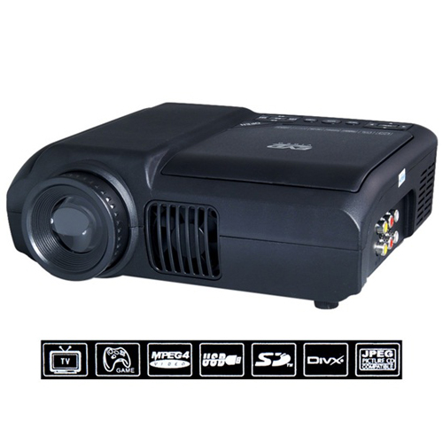 Wholesale Multimedia LED Projector with DVD Player