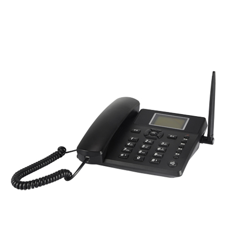 Wholesale 2.4 Inches Wireless Quadband GSM Desk Phone with SMS Function