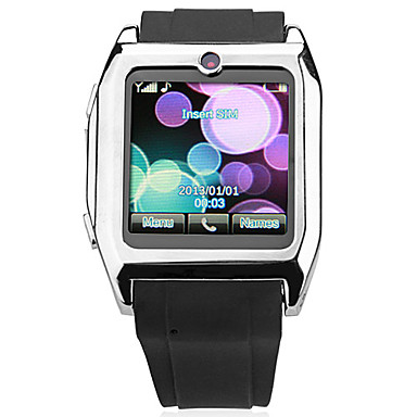 Wholesale 1.3 Inch Touchscreen Watch Phone with Rubber Strap