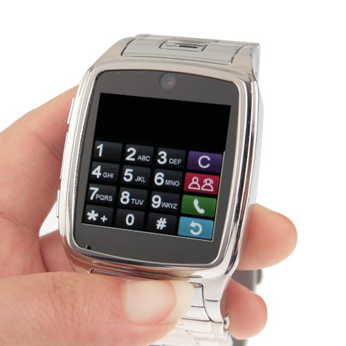 Wholesale TW 810 Watch Cell Phone with Camera (JAVA, MP3, MP4, Bluetooth)