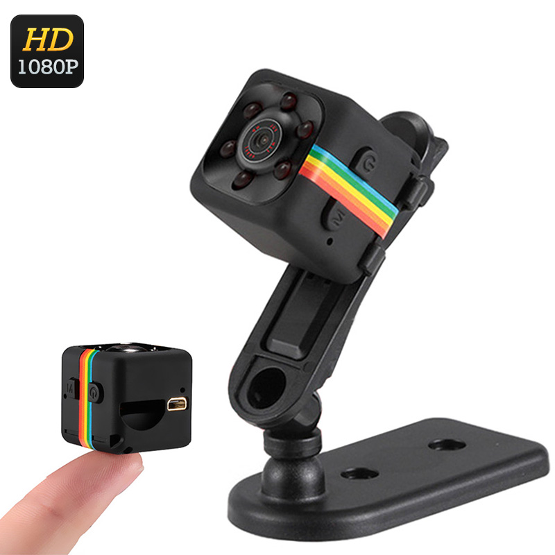 Wholesale 1080p Full HD Mini Sports Camera (Night Vision, Motion Detection + Loop Recording, Black)