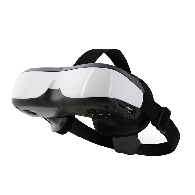 Wholesale 98 Inch Virtual HD 3D VR Headset Video Glasses with 6-Axis Gyroscope (Quad-Core CPU, 3000mAh)