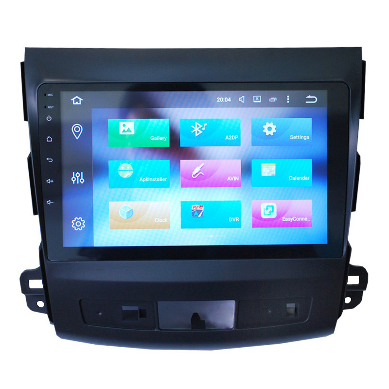 9 Inch One DIN Android 8.0 Car Stereo For Mitsubishi