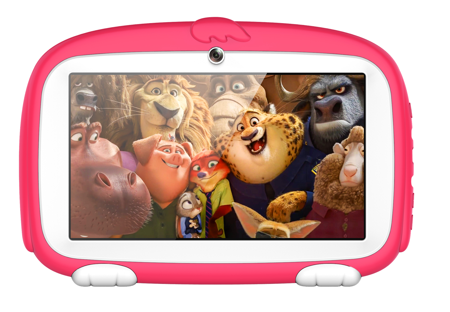Wholesale 7 Inch HD Kids Android Tablet Computer (4000mAh, WiFi, Red)