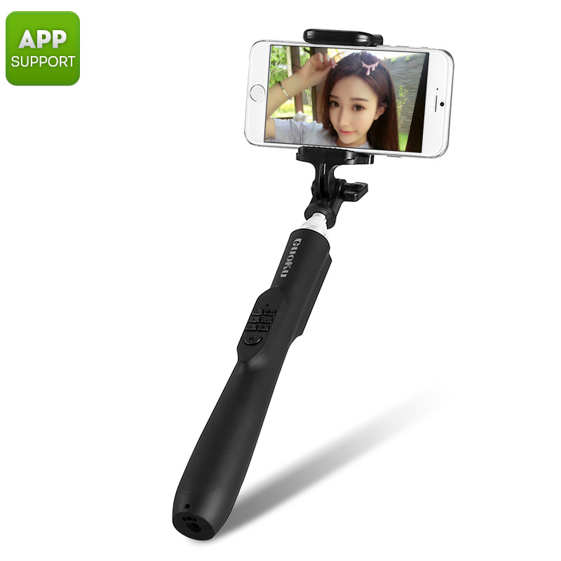 Wholesale Bluetooth Automatic Selfie Stick for iOS/Android (Aluminum Alloy