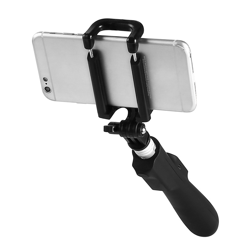 Bluetooth Automatic Selfie Stick for iOS/Android (Aluminum Alloy Body, 450mAh)