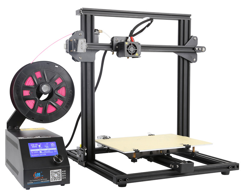 Wholesale Creality 3D CR-10 Mini DIY 3D Printer (0.1mm Accurate, LCD Display, 300x220x300mm, G-Code)