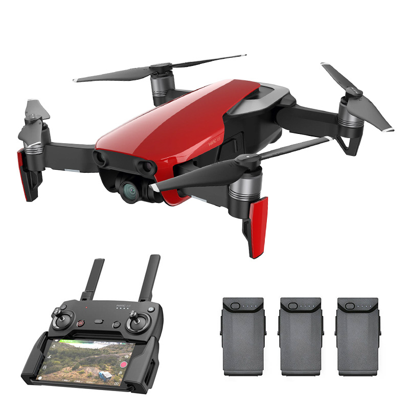 Wholesale DJI Mavic Air Camera Drone Combo (Smart Capture, GPS/GLONASS, 21-Minute Max Flight Time, 4K Camera, 3D Foldable Design, Red)