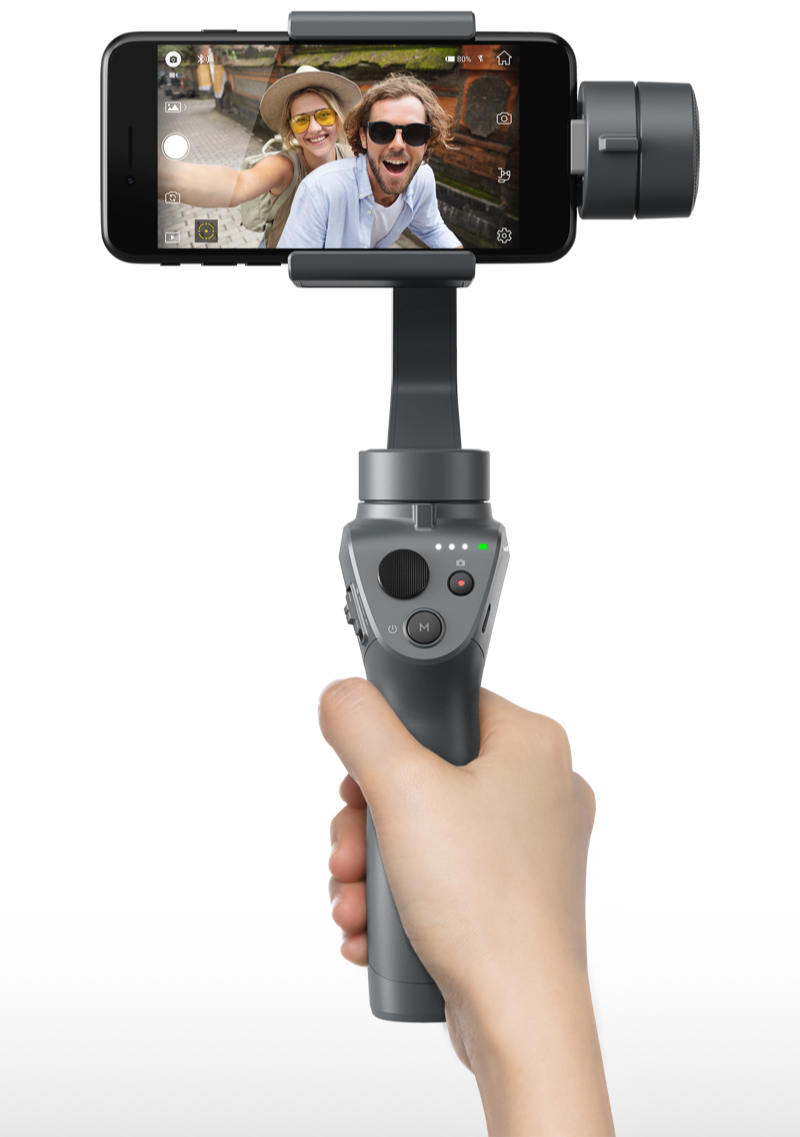 Wholesale DJI OSMO Mobile 2 Handheld Gimbal Stabilizer (Intelligent Following, Trajectory Delay, Vertical Beat Mode)