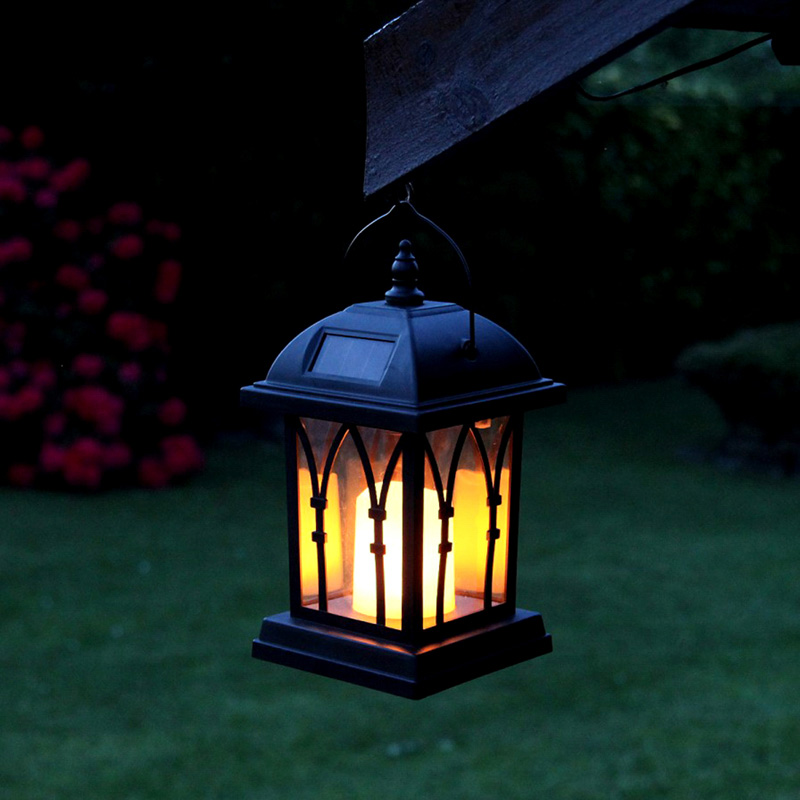 Wholesale Intelligent Candle Effect Decorative Solar LED Lamp (IP44 Waterproof, 600mAh, Warm Yellow)
