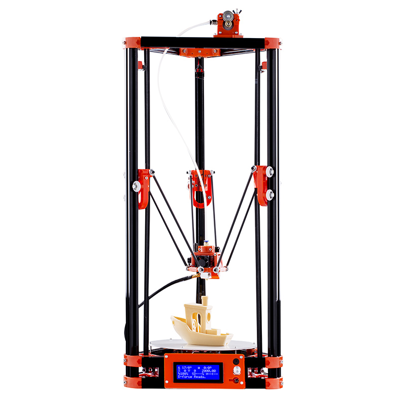 Wholesale Delta Kossel Durable DIY 3D Printer (Large Print Volume, Offline Print, 180x180x300mm)